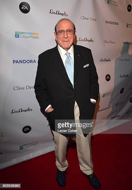 Record producer Clive Davis attends Songs Of Hope at a private residence on September 15 2016 in Brentwood California