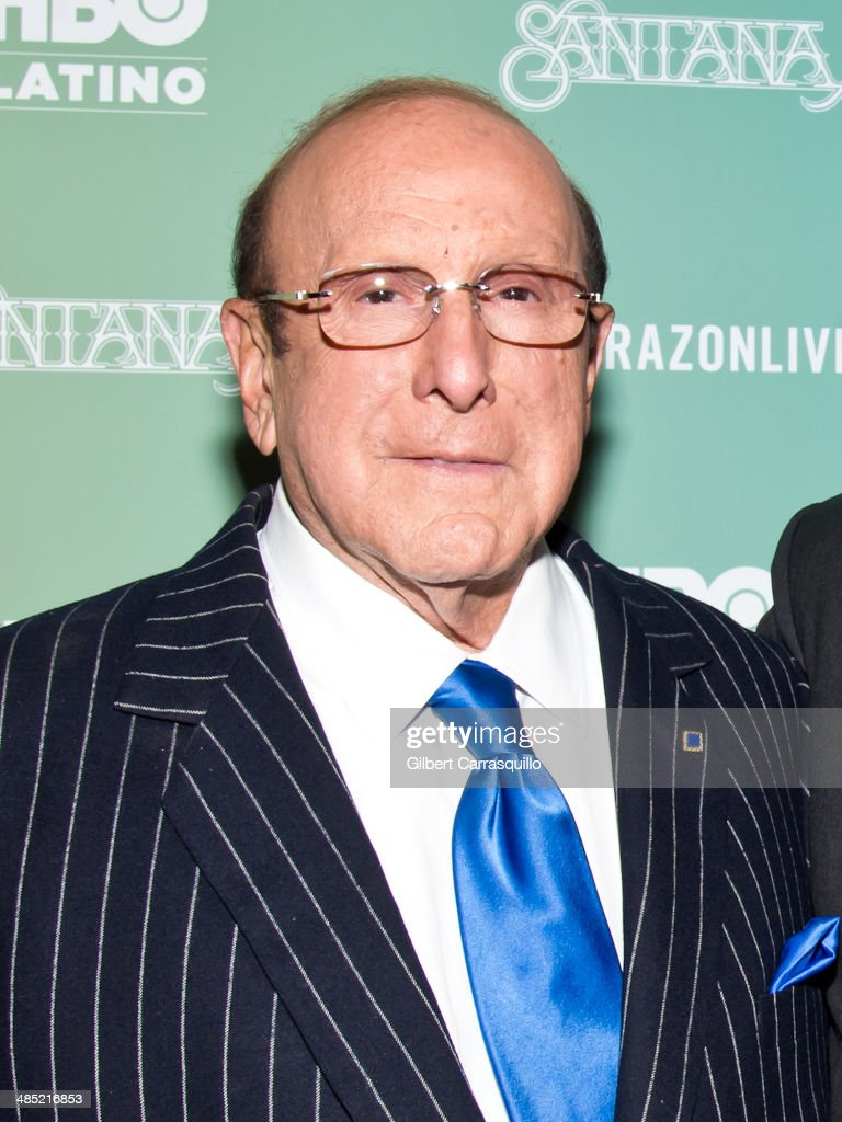 Record producer <a gi-track='captionPersonalityLinkClicked' href=/galleries/search?phrase=Clive+Davis&family=editorial&specificpeople=209314 ng-click='$event.stopPropagation()'>Clive Davis</a> attends the 'Santana De Corazon' screening at The Hudson Theatre on April 16, 2014 in New York City.
