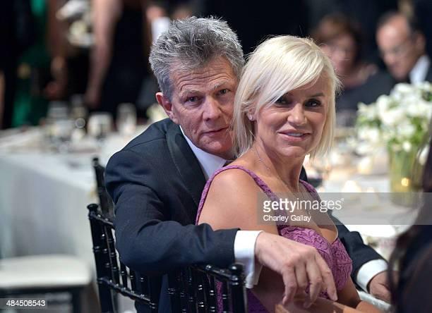 Record producer David Foster and Yolanda Foster attend Muhammad Ali's Celebrity Fight Night XX held at the JW Marriott Desert Ridge Resort Spa on...