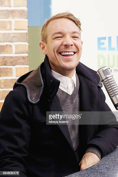 Record producer Diplo visits 'The Elvis Duran Z100 Morning Show' at Z100 Studio on October 28 2015 in New York City