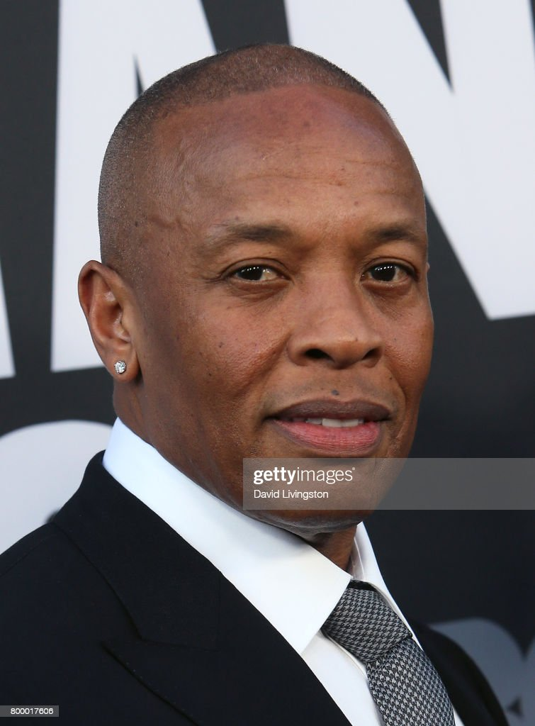 Record producer Dr. Dre attends the premiere of HBO's 'The Defiant Ones' at the Paramount Theatre on June 22, 2017 in Hollywood, California.