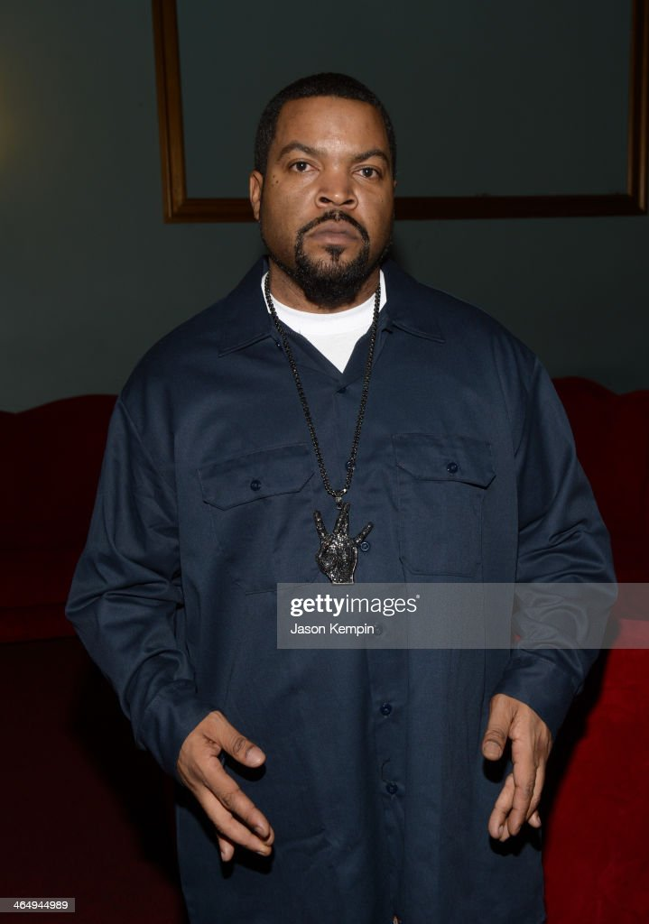 Record producer <a gi-track='captionPersonalityLinkClicked' href=/galleries/search?phrase=Ice+Cube+-+Entertainer&family=editorial&specificpeople=202098 ng-click='$event.stopPropagation()'>Ice Cube</a> attends the Beats Music Launch Party at Belasco Theatre on January 24, 2014 in Los Angeles, California.