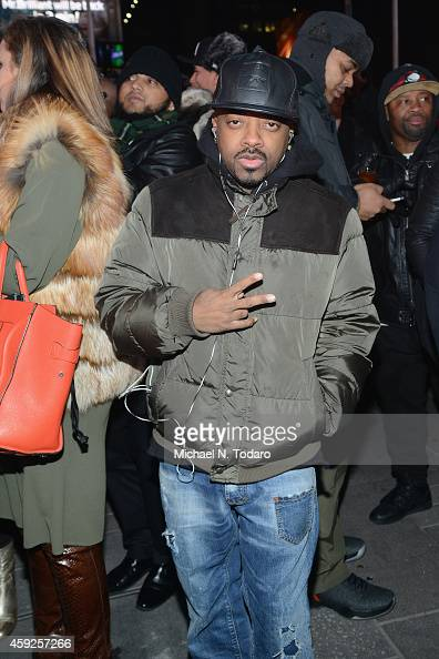 Record producer Jermaine Dupri attends CIROC's 'Step Into The Circle' Launch hosted by Sean Diddy Combs in Times Square on November 19 2014 in New...