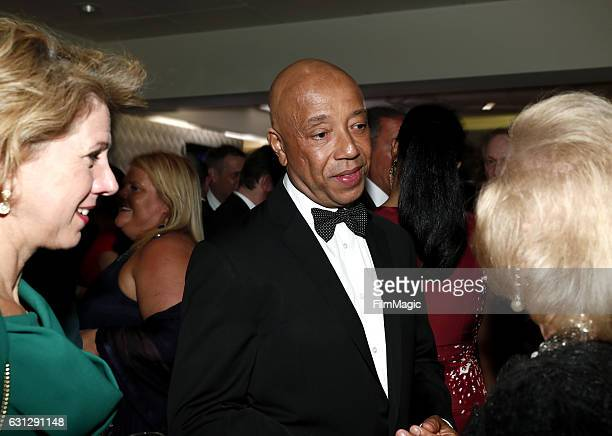Record producer Russell Simmons attends HBO's Official Golden Globe Awards After Party at Circa 55 Restaurant on January 8 2017 in Beverly Hills...