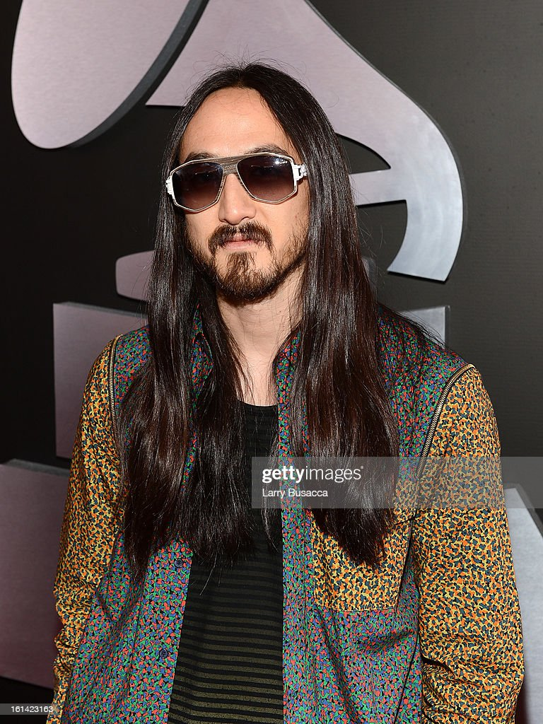 Record producer Steve Aoki attends the 55th Annual GRAMMY Awards at STAPLES Center on February 10, 2013 in Los Angeles, California.