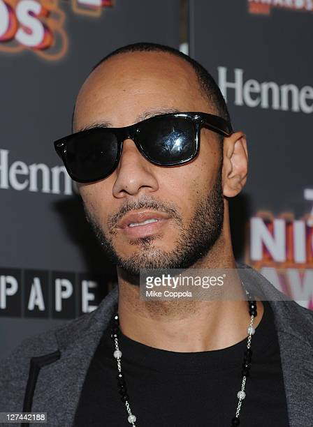 Record producer/dj Swizz Beatz attends the Paper Magazine 2011 Nightlife awards at Hiro Ballroom at The Maritime Hotel on September 27 2011 in New...