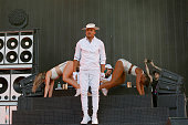 Record producer/rapper Walshy Fire of Major Lazer performs during the 2016 Panorama Festival on July 22 2016 in New York City