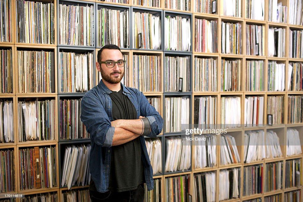 Record Store : Stock Photo