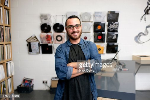 Record Store : Stock Photo