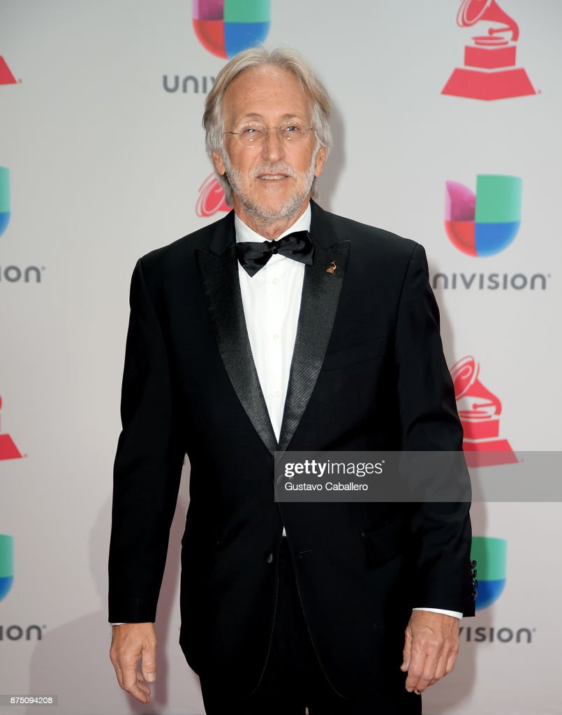 Recording Academy President Neil Portnow attends the 18th Annual Latin Grammy Awards at MGM Grand Garden Arena on November 16, 2017 in Las Vegas, Nevada.