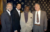 Recording Academy President Neil Portnow Lionel Richie Clarence Avant and Randy Newman