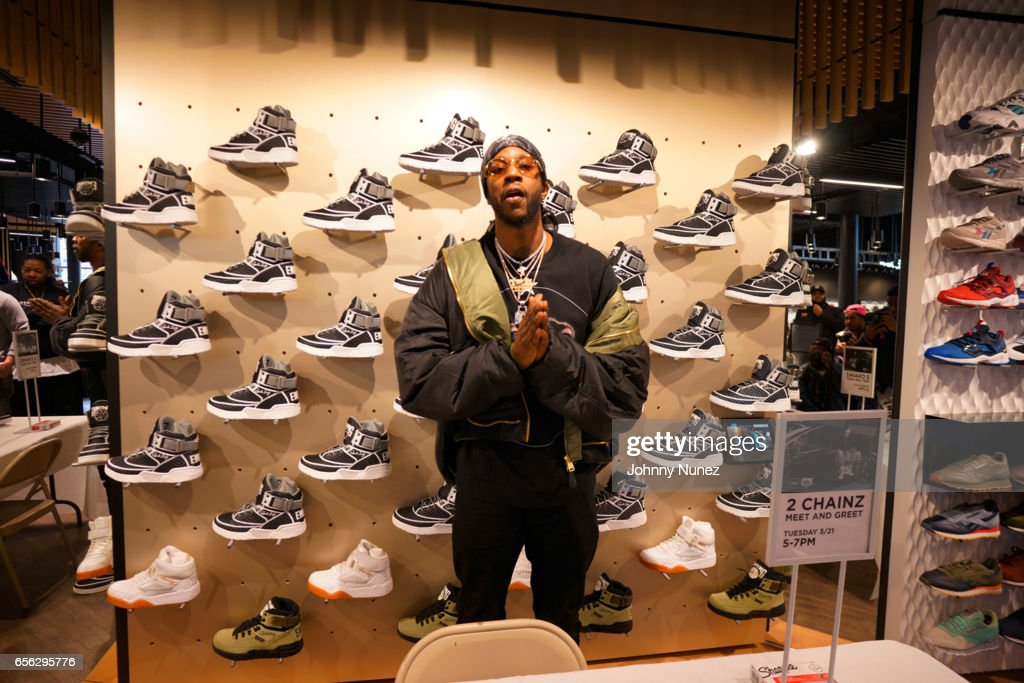Recording artist 2 Chainz attends the 2 Chainz Ewing sneaker release at Jimmy Jazz on March 21, 2017 in New York City.