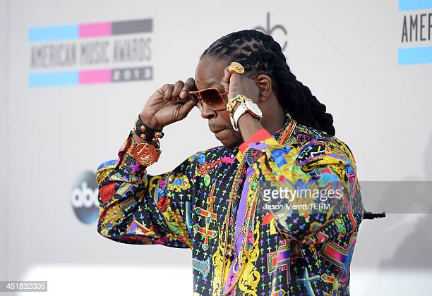 Recording artist 2 Chainz attends the 2013 American Music Awards at Nokia Theatre LA Live on November 24 2013 in Los Angeles California