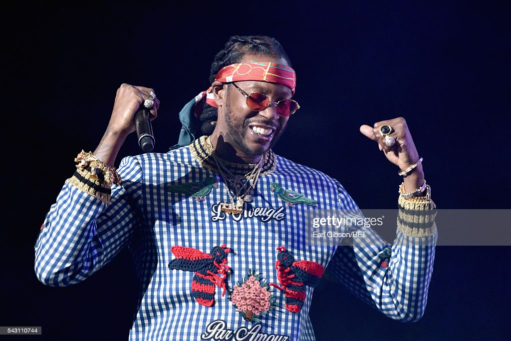 Recording artist 2 Chainz performs onstage during the 2016 BET Experience at Staples Center on June 25, 2016 in Los Angeles, California.