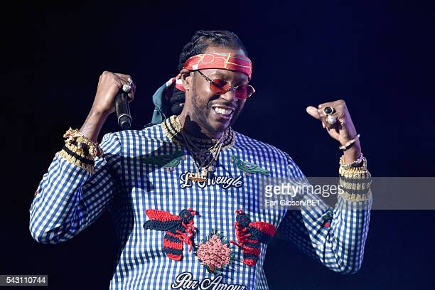 Recording artist 2 Chainz performs onstage during the 2016 BET Experience at Staples Center on June 25 2016 in Los Angeles California