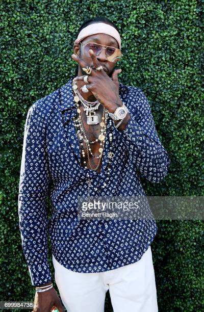 Recording artist 2 Chainz poses at day one of BETX Live presented by Denny's during the 2017 BET Experience on June 22 2017 in Los Angeles California