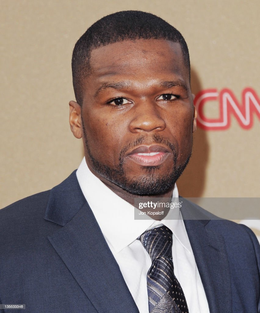 Recording artist 50 Cent arrives at the 2011 CNN Heroes An AllStar Tribute at The Shrine Auditorium on December 11 2011 in Los Angeles California
