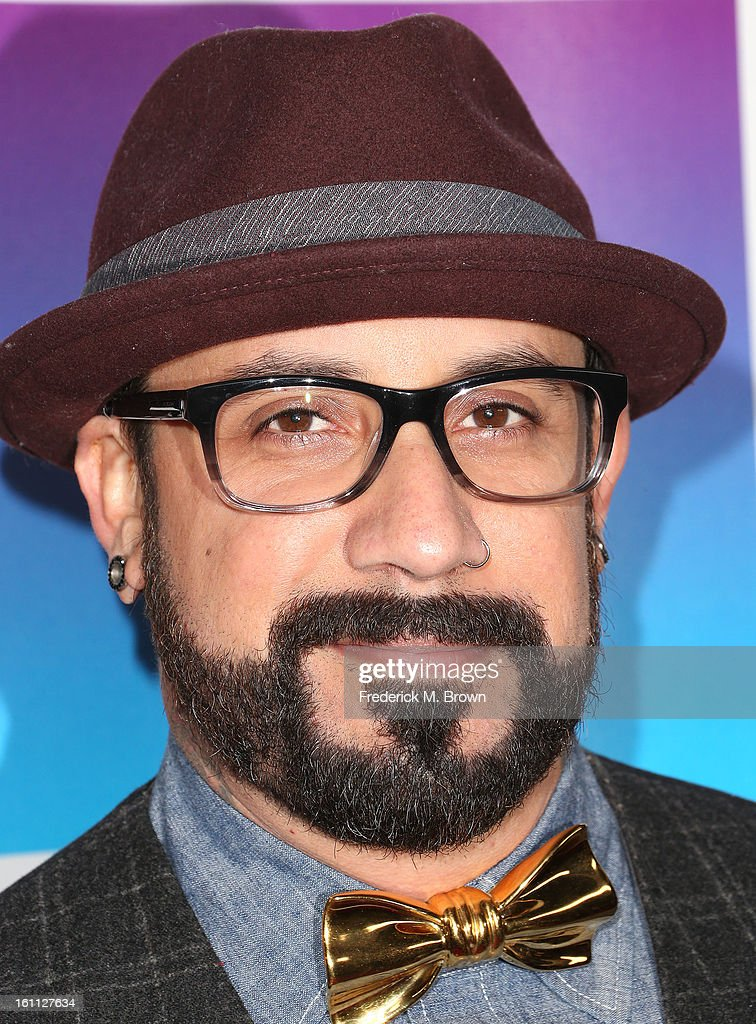 Recording artist A. J. McLean attends the 16th Annual 'Friends 'N' Family' Pre-GRAMMY Event at Paramount Studios on February 8, 2013 in Hollywood, California.