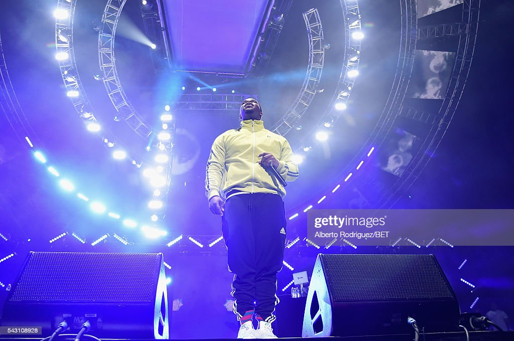 Recording artist A$AP Ferg performs onstage during the 2016 BET Experience at Staples Center on June 25, 2016 in Los Angeles, California.