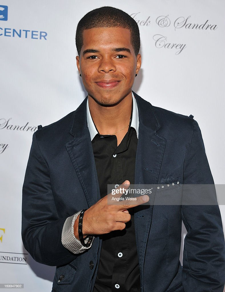 Recording artist Aaron Fresh arrives to The Dream Center's 5th annual night of dreams gala at The Dream Center on October 3, 2012 in Los Angeles, California.