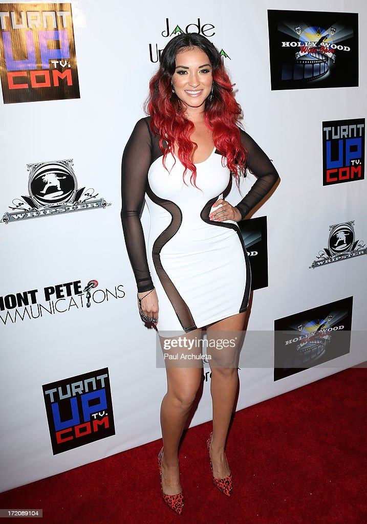 Recording Artist Abrina attends the 'Party After' the 2013 BET Awards hosted by Chris Brown and Nick Cannon at The Belasco Theater on June 30, 2013 in Los Angeles, California.
