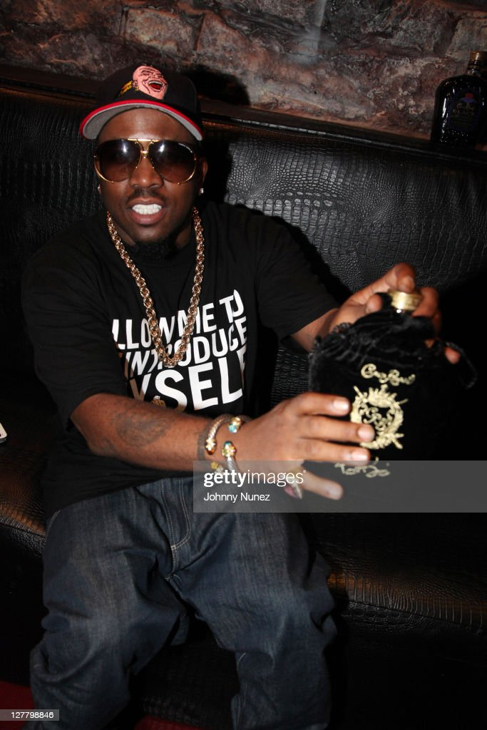 Recording artist actor and entrepreneur Big Boi attends the party celebrating his partnership with Crown Royal Black at Door 44 on June 6 2011 in...