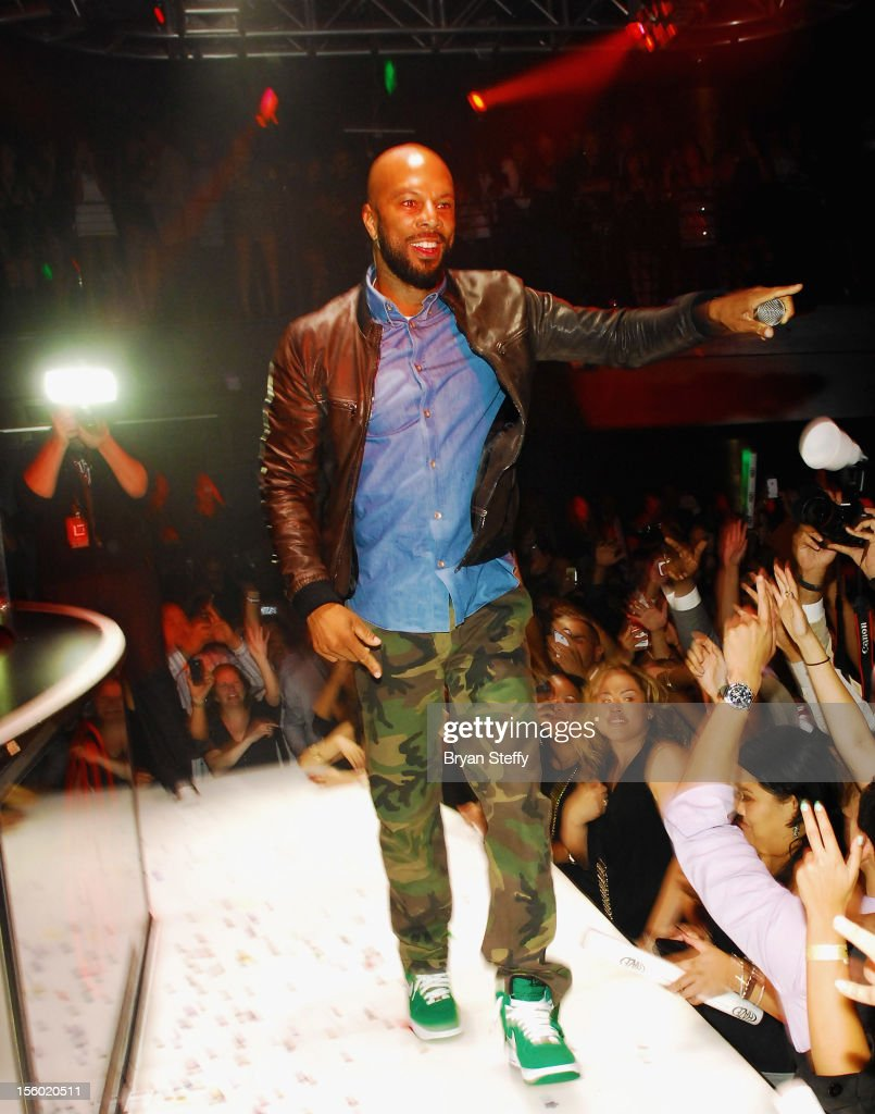 Recording artist & actor Common performs at Haze Nightclub at the Aria Resort & Casino at CityCenter on November 10, 2012 in Las Vegas, Nevada.