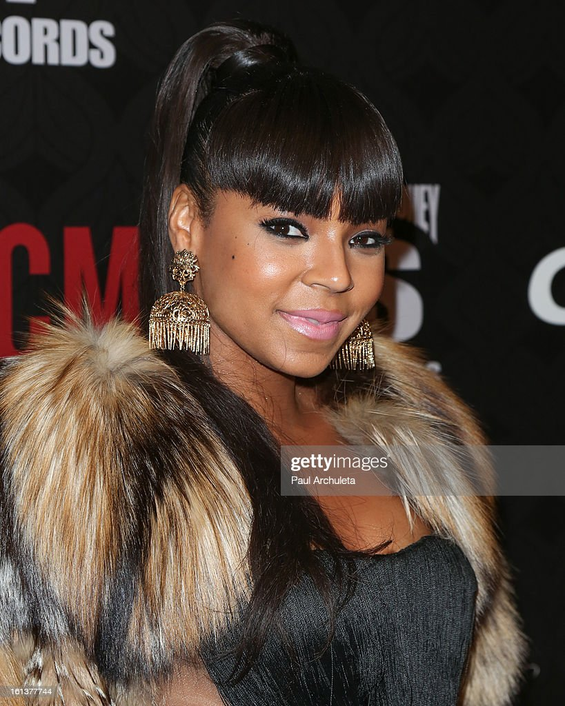 Recording Artist / Actress <a gi-track='captionPersonalityLinkClicked' href=/galleries/search?phrase=Ashanti&family=editorial&specificpeople=146300 ng-click='$event.stopPropagation()'>Ashanti</a> attends the Cash Money Records 4th annual Pre-GRAMMY Awards party on February 9, 2013 in West Hollywood, California.
