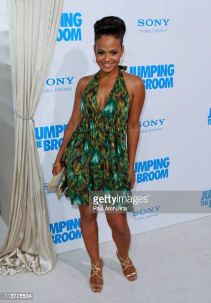Recording Artist / Actress Christina Milian arrives at the 'Jumping The Broom' Los Angeles premiere at ArcLight Cinemas Cinerama Dome on May 4 2011...