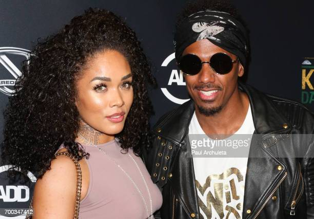 Recording Artist / Actress Kreesha Turner and TV Personality Nick Cannon attend the screening of 'King Of The Dance Hall' at TCL Chinese 6 Theatres...