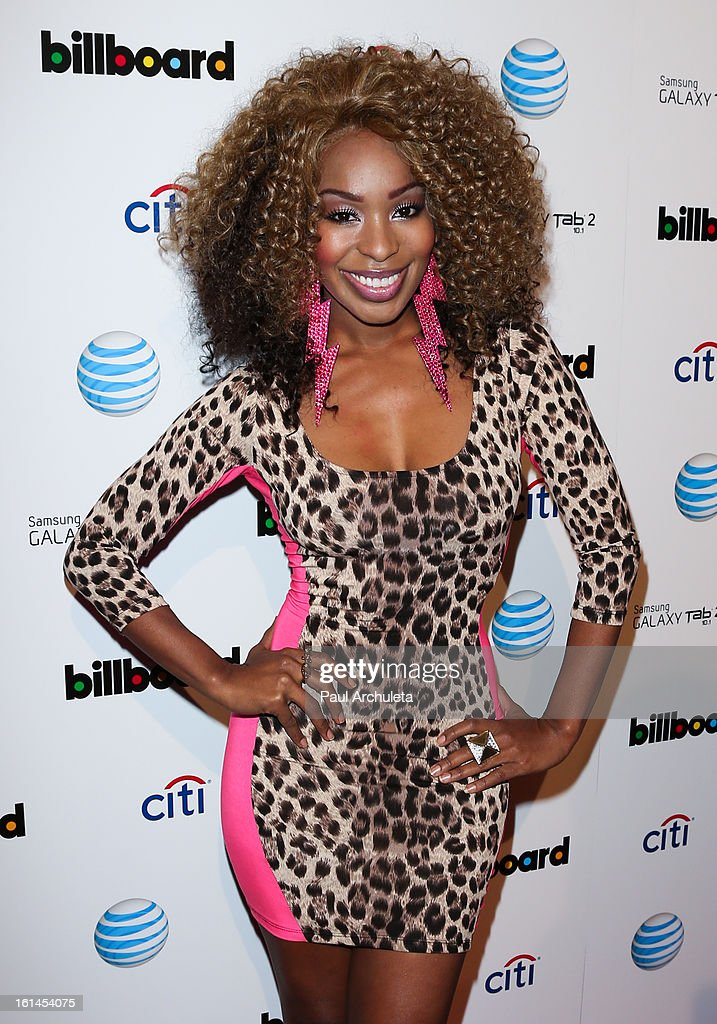 Recording Artist / Actress Porscha Coleman attends The Billboard GRAMMY after party at The London Hotel on February 10, 2013 in West Hollywood, California.