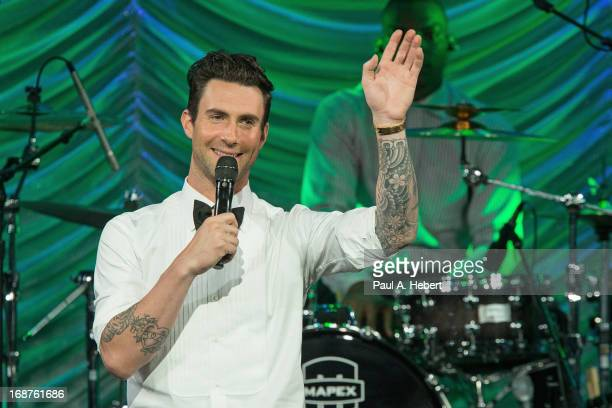 Recording artist Adam Levine onstage during BMI's 61st Annual Pop Awards at the Beverly Wilshire Four Seasons Hotel on May 14 2013 in Beverly Hills...