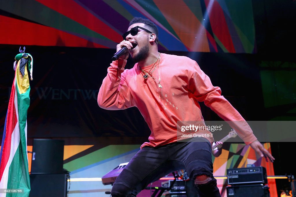 Recording artist AKA performs on the BETX Stage sponsored by Nissan during the 2016 BET Experience on June 25, 2016 in Los Angeles, California.