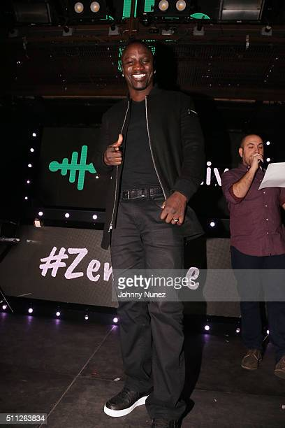 Recording artist Akon and radio personality Peter Rosenberg host Zeno Live at Marquee on February 18 in New York City