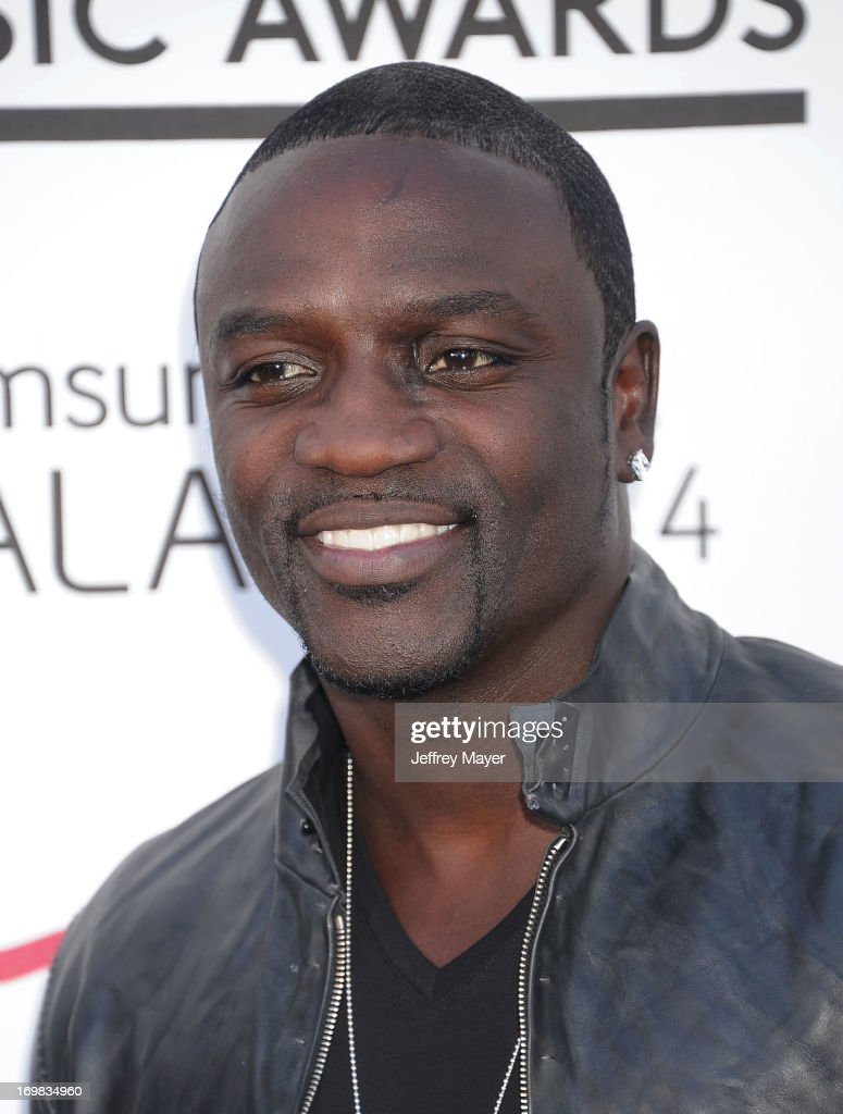 Recording artist Akon arrives at the 2013 Billboard Music Awards at the MGM Grand Garden Arena on May 19, 2013 in Las Vegas, Nevada.