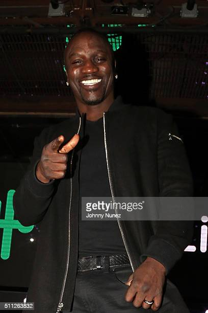 Recording artist Akon hosts Zeno Live at Marquee on February 18 in New York City