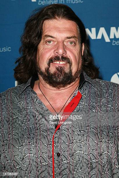 Recording artist Alan Parsons attends the 110th NAMM Show Day 1 at the Anaheim Convention Center on January 19 2012 in Anaheim California