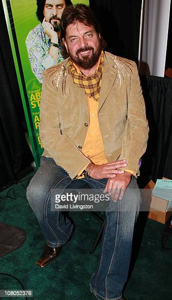 Recording artist Alan Parsons attends the 2011 NAMM Show Day 3 at the Anaheim Convention Center on January 14 2011 in Anaheim California