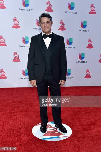 Recording artist Alejandro Sanz attends the 16th Latin GRAMMY Awards at the MGM Grand Garden Arena on November 19 2015 in Las Vegas Nevada