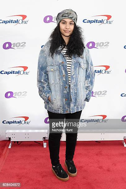 Recording artist Alessia Cara attends Q102's Jingle Ball 2016 on December 7 2016 in Philadelphia Pennsylvania