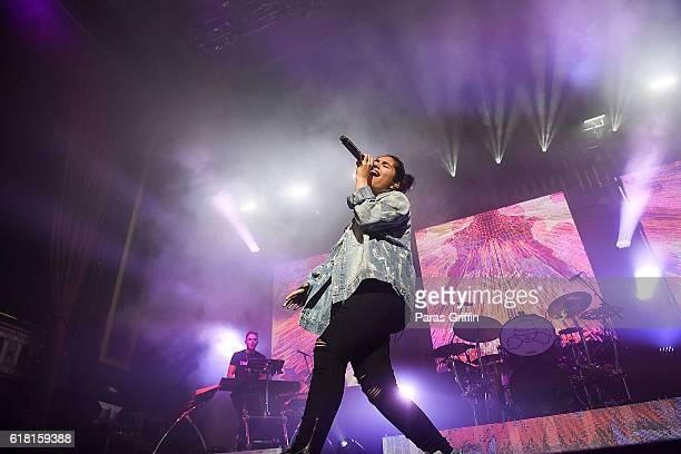 Recording artist Alessia Cara performs in concert at The Tabernacle on October 25 2016 in Atlanta Georgia