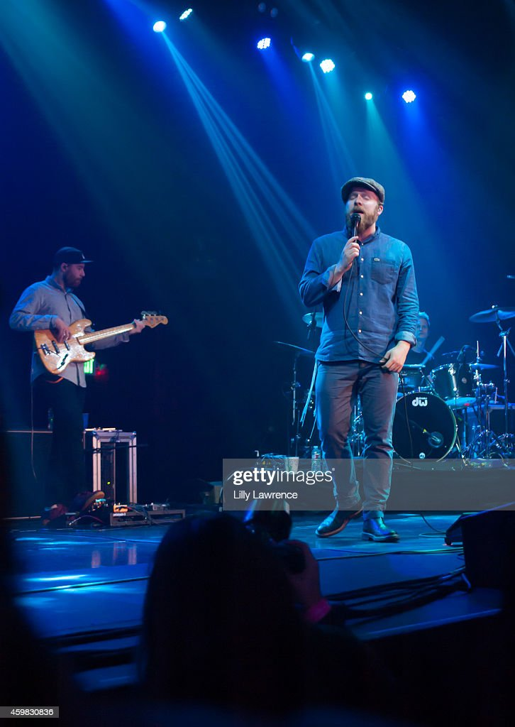 Recording artist Alex Clare performs in concert at The Belasco Theater on December 1 2014 in Los Angeles California