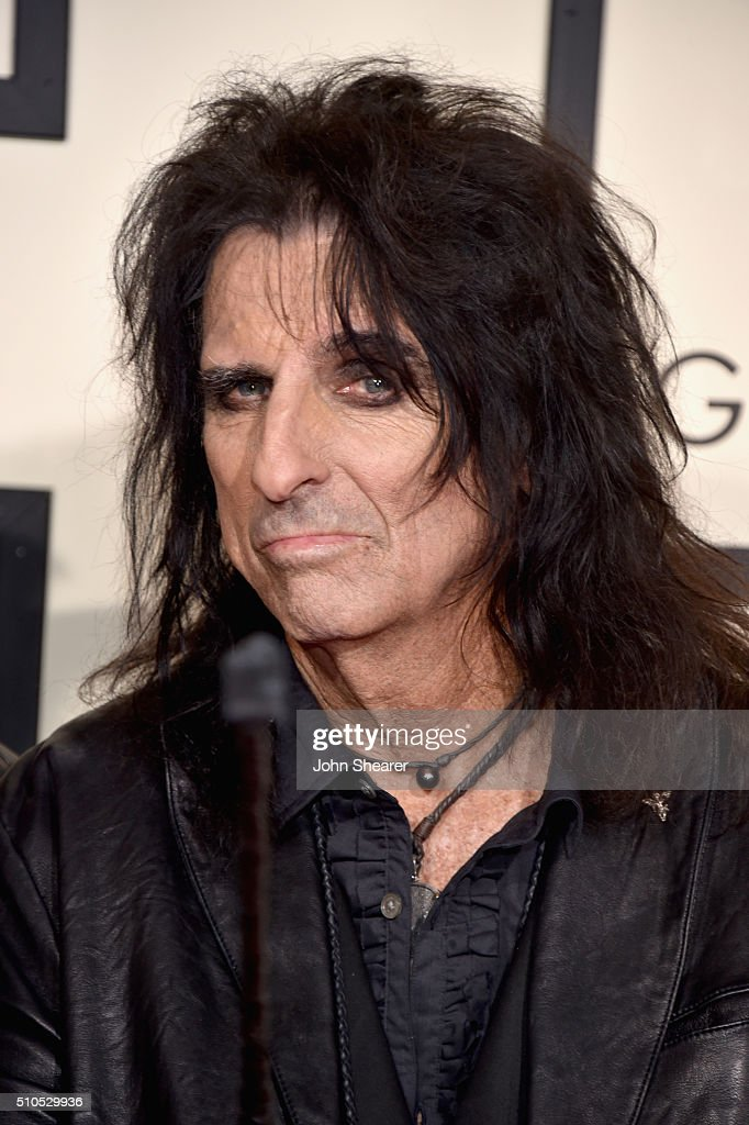 Recording artist Alice Cooper attends The 58th GRAMMY Awards at Staples Center on February 15, 2016 in Los Angeles, California.