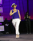 Recording artist Alicia Keys attends the 2014 Essence Music Festival on July 4 2014 in New Orleans Louisiana