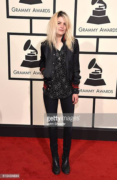 Recording artist Alison Mosshart attends The 58th GRAMMY Awards at Staples Center on February 15 2016 in Los Angeles California