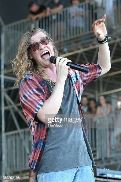 Recording artist Allen Stone performs onstage at What Stage during Day 2 of the 2016 Bonnaroo Arts And Music Festival on June 10 2016 in Manchester...
