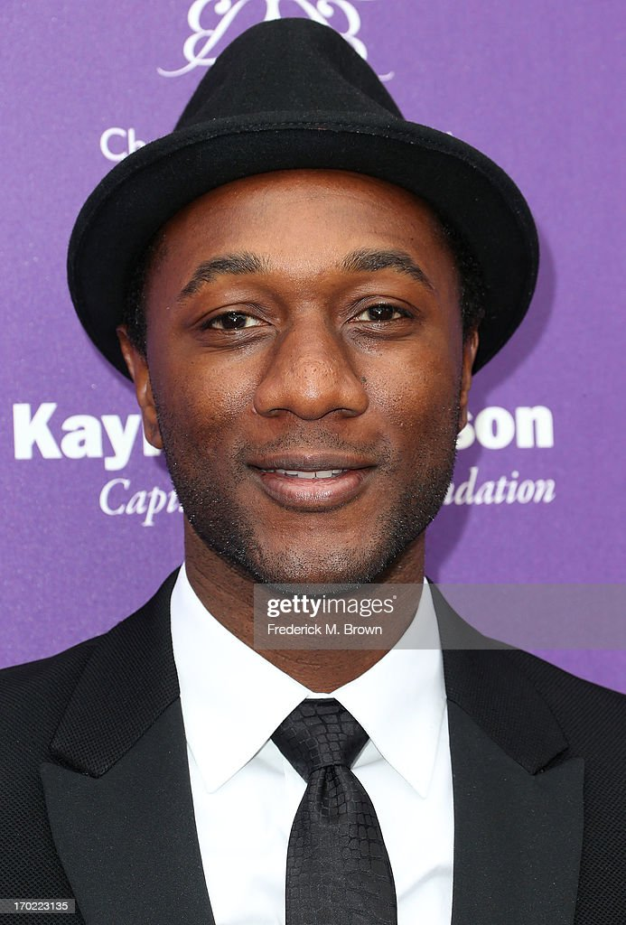 Recording artist Aloe Blacc attends the 12th Annual Chrysalis Butterfly Ball on June 8, 2013 in Los Angeles, California.