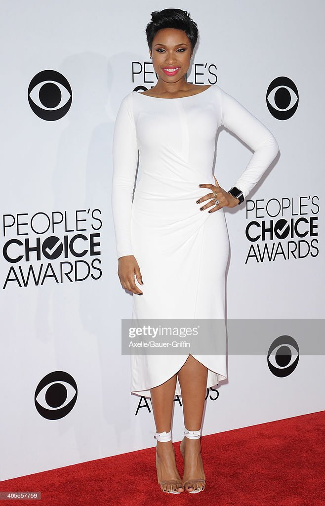 Recording Artist and Actress Jennifer Hudson arrives at The 40th Annual People's Choice Awards at Nokia Theatre L.A. Live on January 8, 2014 in Los Angeles, California.