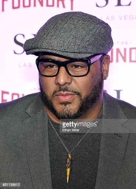 Recording artist and record producer Al B Sure arrives at the kickoff of Dana Carvey and Jon Lovitz's 20show residency 'Reunited' at The Foundry at...