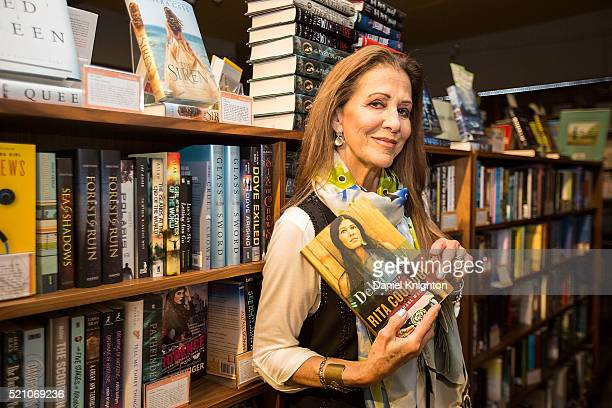 Recording artist and songwriter Rita Coolidge poses prior to her book signing for 'Delta Lady' at Warwick's on April 13 2016 in La Jolla California